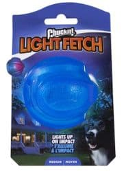 Chuckit Light Up Fetch Ball 6cm Floats High Bounce Flashing Great for Dark night
