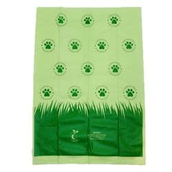 Compostable Poo Bags - Large Strong Quality - Biodegradable