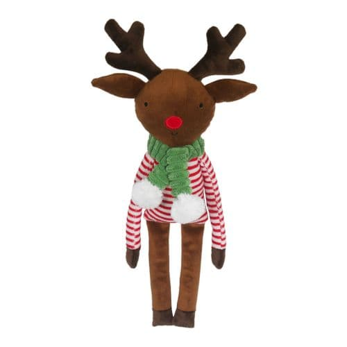 Cupid & Comet Festive Christmas Rudolph Reindeer Plush Dog Toy