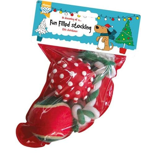 Dog Toy Christmas Stocking at a great bargain buy for multiple