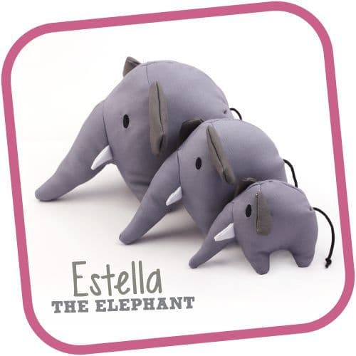 Estelle The Elephant Beco Family Soft and Cuddly Toy For Dogs (2) (1)