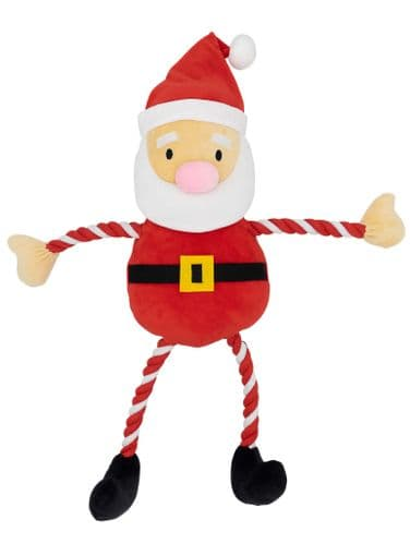 Giant GoodBoy Christmas Hug Tug Santa Rope arms and legs 85cm!!!