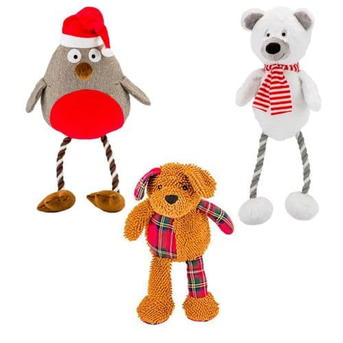 GIANT PLUSH Christmas Bundle Bargain! x 3 toys!