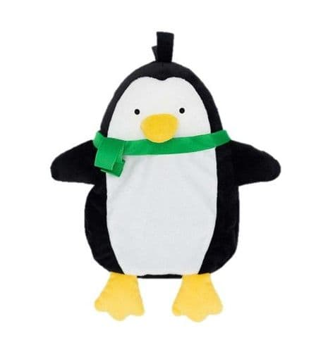 Good Boy Plush CRINKLE Raggy Penguin  with a squeaky nose