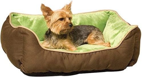 K & H Self warming Lounge Sleeper Plush Dog Puppy Bed