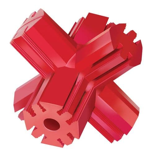 KONG Jump N Jack Red Classic Rubber (various sizes)
