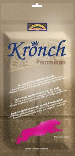 Kronch Pemmikan High Energy Dog Bar Treat  Ideal for Working Dogs