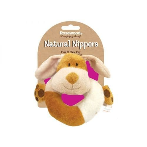 Natural Nippers Cuddle Ring Puppy Toy