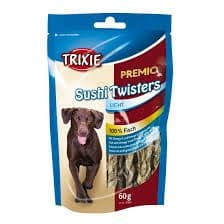 NATURAL TREATS TRIXIE Premio Sushi Twisters Light Natural Fish Dog Treats (60g) -