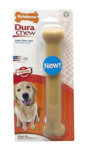 Nylabone Large / Giant Dura Dog Chew / Toy (Peanut butter)