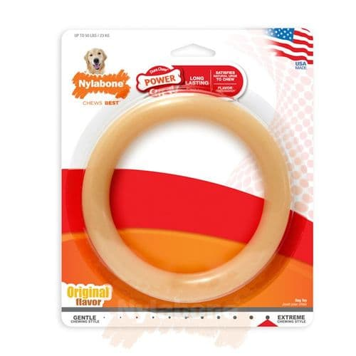 Nylabone   Power Dura Chew Large Ring Original Flavour