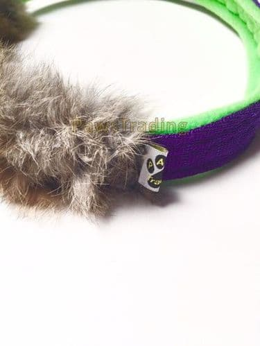 Paws Made Bunny power Rabbit Fur Ring great for motivation and reward