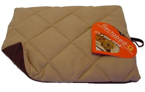 PetLife FlectaBed Q Dog Bed / Mat - Protects Cats & Dogs from Chills