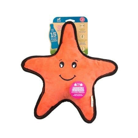 SINDY THE STARFISH ROUGH & TOUGH TOY - Made from recycled plastic bottles