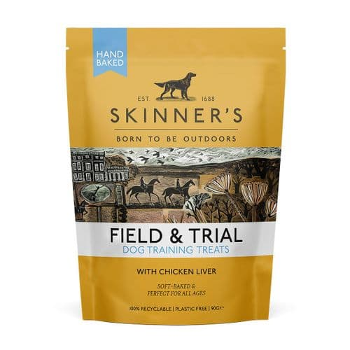Skinners Field & Trial Dog Training Treats (Suitable for Puppies 8 Weeks+) Chicken Liver
