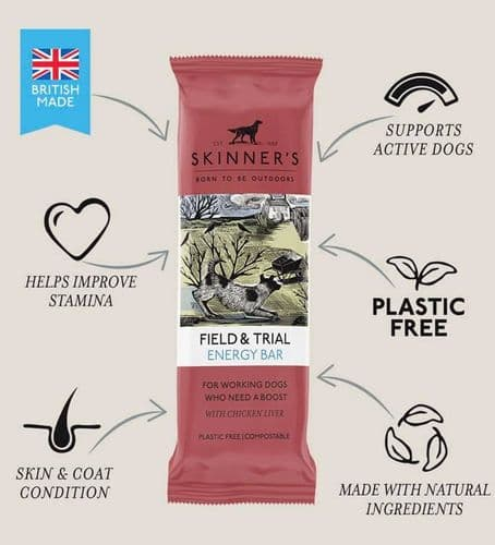 Skinners Field & Trial Energy Bar For Working / Active Dogs