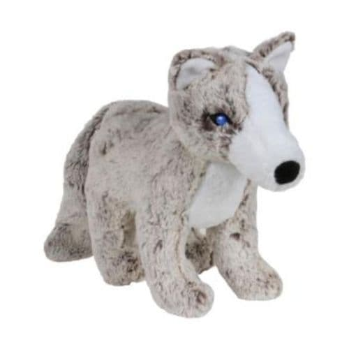 SMALL Animal Instincts Snow Mates Plush Soft Dog Toy Anika Arctic fox