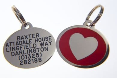 Styled Pet ID Identification Tags