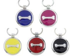 TAGIFFANY - Smartie Collection Pet Tag - Bone - 25mm / 30mm