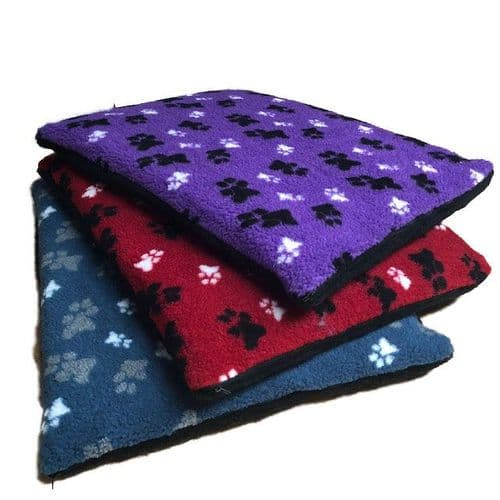 Thick Filled Fleece Mat Cage Dog Bed Great Quality