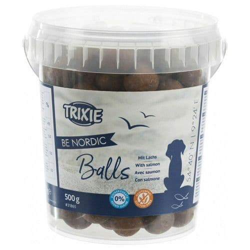 Trixie Be Nordic Moist Salmon Balls Grain free and sugar free