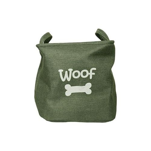 Woof Toy Tidy Basket