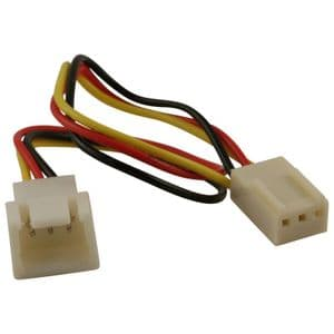 3 Pin Fan Power Extension Cable - 3 Pin/3 Wire Fan Cable
