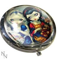 Alice and Snow White Compact Mirror