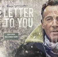 Bruce Springsteen ‎– Letter To You - (Limited Edition) (Etched D-Side) - New Vinyl