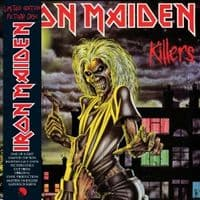 """Iron Maiden-Killers (Limited Edition Picture Disc) 12"""" LP 2012"""