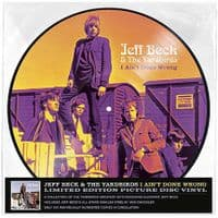 Jeff Beck And The Yardbirds ‎– I Ain't Done No Wrong - New Picture Disc Vinyl