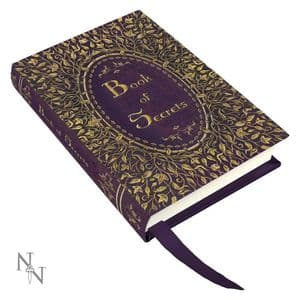 Journal Diary Purple and Gold Book of Secrets