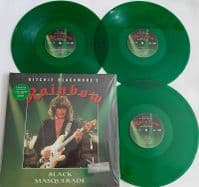 RAINBOW 'BLACK MASQUERADE' Limited & Numbered 180g Light Green Coloured VINYL LP
