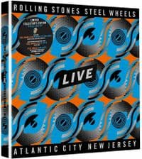 The Rolling Stones - Steel Wheels Live: Atlantic City New Jersey - CD - DVD - Blu-Ray Box Set