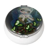 Trinket Box Fairy - Absinthe Butterflies