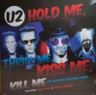 U2 ‎– Hold Me, Thrill Me, Kiss Me, Kill Me RSD Black Friday 2018