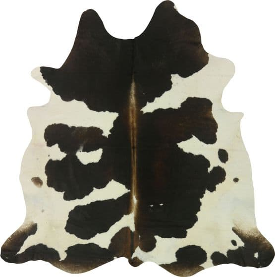 Brown & White Cowhide XL- 12726