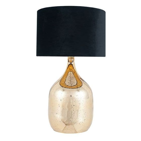 Champagne Gold Dual Light Table Lamp