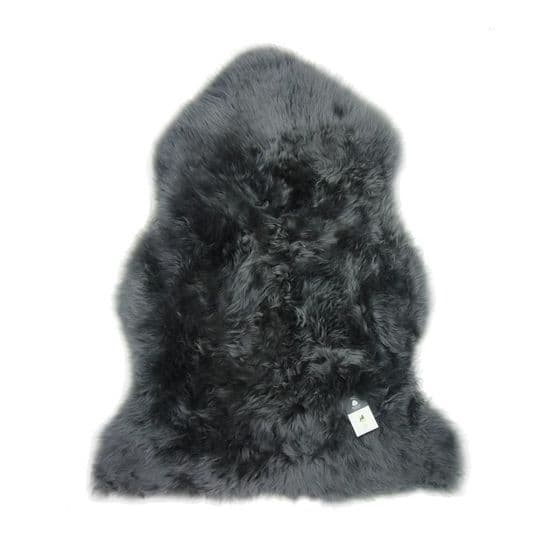 Sheepskin Rug - Dark Grey / Charcoal