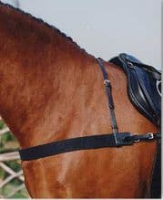 Sabre Elasticated Breastgirth with Neck Strap