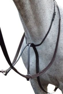 Sabre Stainless Steel Running Martingale