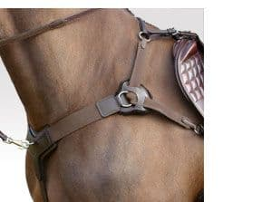 5 point breastplate by Sabre. Kompetitor Five point competition breastplate.