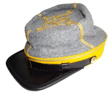 Confederate 1861 Pattern Cavalry Captain's Kepi