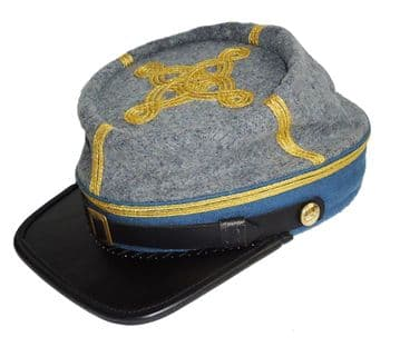 Confederate 1861 Pattern Infantry Major Or Colonel's Kepi