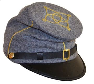 Confederate 1st Or 2nd Lieutenant's Forage Cap