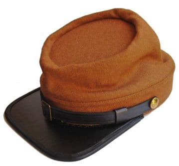 Confederate Butternut Colour Kepi