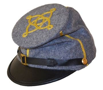 Confederate Captain's Forage Cap
