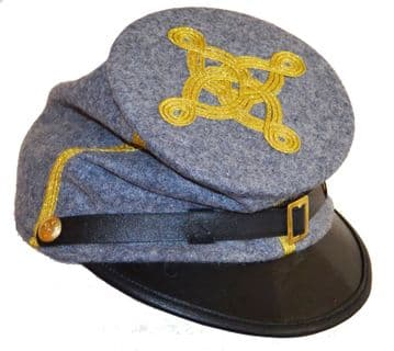 Confederate Colonel Or Major's Forage Cap