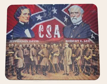 Confederate General Lee And His Generals Mouse Mat