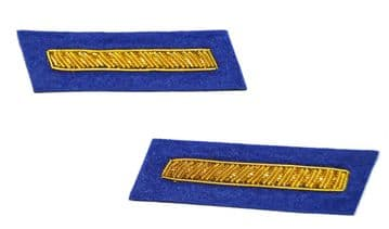 Confederate Infantry 2nd Lieutenants Collar Insignia Set